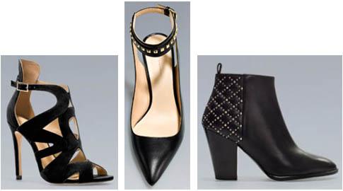 Chaussures Zara printemps,été 2013