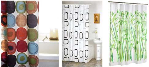Le rideau de douche les minie 39 s du guide beaut femme - Rideaux de douche design ...