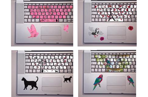 stickers pour clavier color les minie 39 s du guide beaut femme. Black Bedroom Furniture Sets. Home Design Ideas