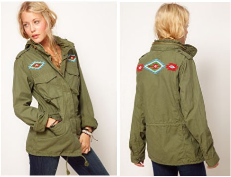 Parka Denim & Supply By ralph Lauren